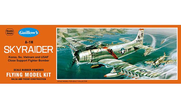 U.S. Skyraider 1/35 Balsa Model Kit