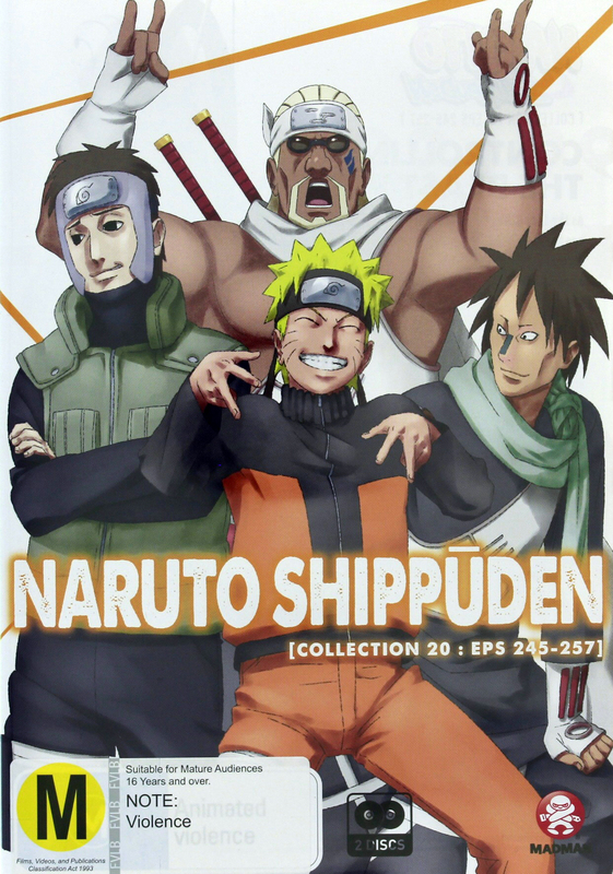 Naruto Shippuden - Collection 20 on DVD