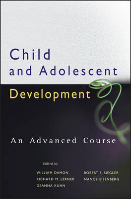 Child and Adolescent Development by William Damon image