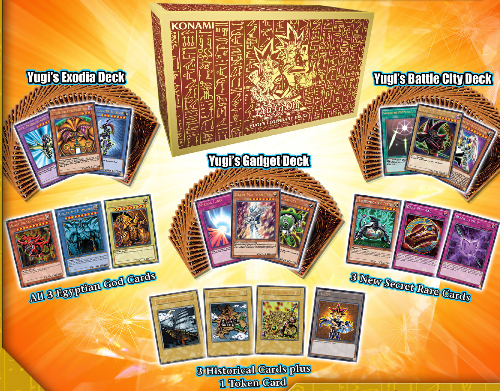 Yu-Gi-Oh! King Of Games Yugi's Legendary Decks image
