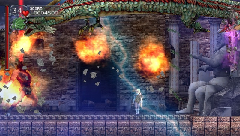 Castlevania: The Dracula X Chronicles screenshot