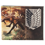 Attack On Titan Bi-Fold Wallet