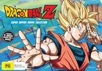 Dragon Ball Z Super Saiyan Movie Collection on DVD