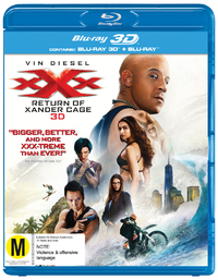 xXx: The Return Of Xander Cage DVD