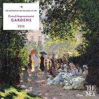 French Impressionist Gardens 2019 Wall Calendar by Metropolitan Museum of Art the