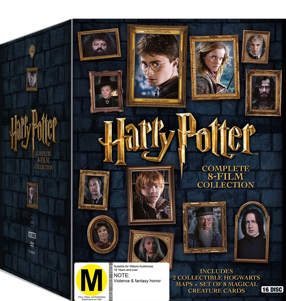 Harry Potter: Complete 8-Film Collection - Limited Edition on DVD image