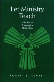 Let Ministry Teach by Robert L. Kinast image