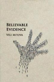 Believable Evidence by Veli Mitova