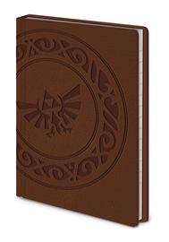 Legend of Zelda Premium A6 Notebook Triforce