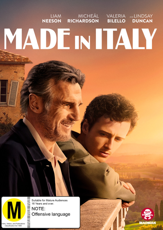 Made In Italy on DVD