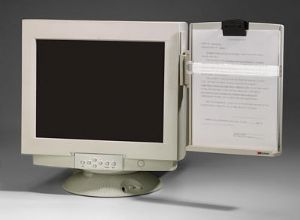 3M DH440 Basic Monitor Mounted Document Holder image