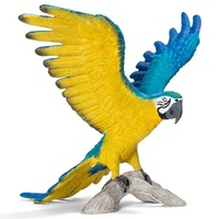 Schleich: Blue and Yellow Macaw