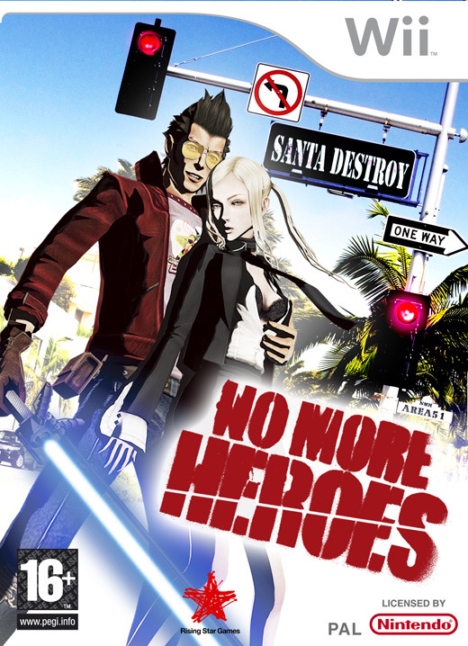 No More Heroes for Nintendo Wii