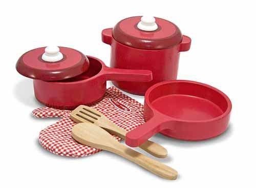 Melissa & Doug: Wooden Kitchen Accessory Set