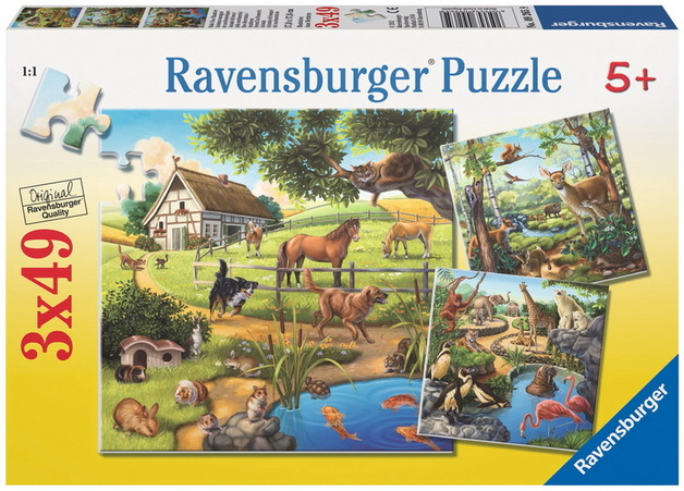 Ravensburger 35 Piece Jigsaw Puzzle - Forest Zoo & Pets