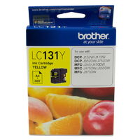 Brother Ink Cartridge LC131Y (Yellow)