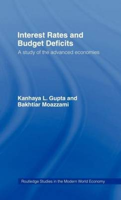 Interest Rates and Budget Deficits by Kanhaya L Gupta image