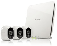 Arlo Wire-Free Security System with 3 HD Camera