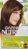 Garnier Nutrisse Permanent Nourishing Hair Colour - 4.3 Cappuccino