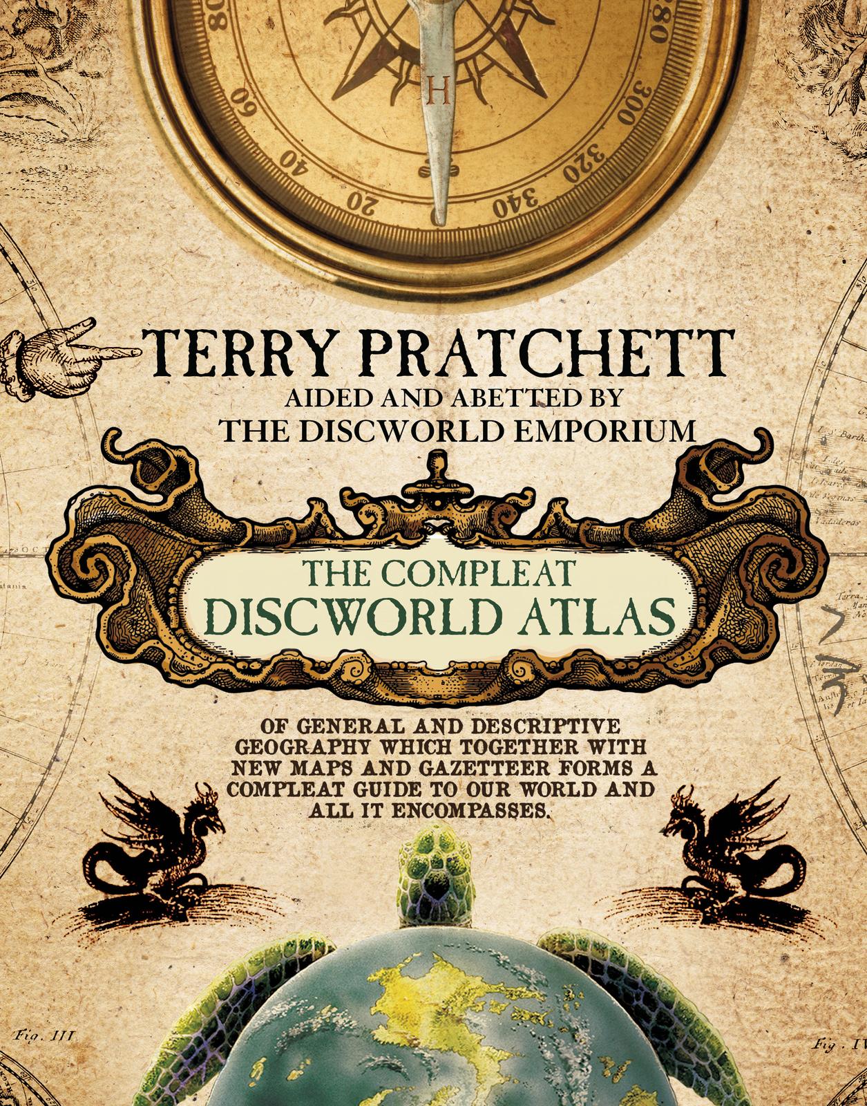 The Discworld Atlas by Terry Pratchett image
