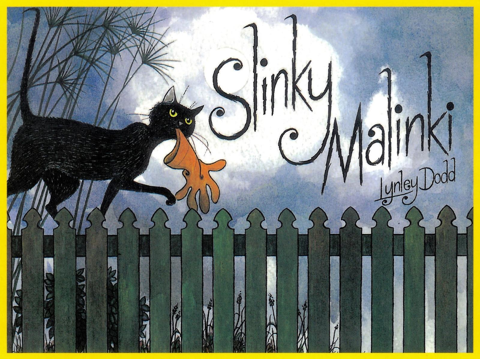 Slinky Malinki by Lynley Dodd image
