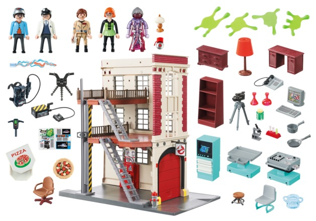 Playmobil: Ghostbusters - Firehouse Playset (9219)
