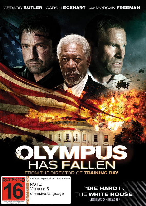 Olympus Has Fallen on DVD