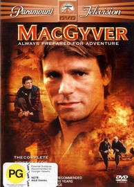 MacGyver - Complete Season 1 (6 Disc Box Set) on DVD image