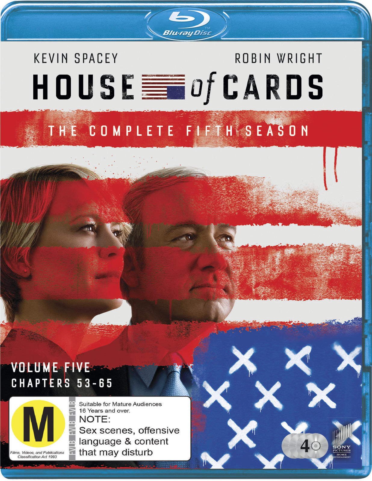 House of Cards - The Complete Fifth Season on Blu-ray image