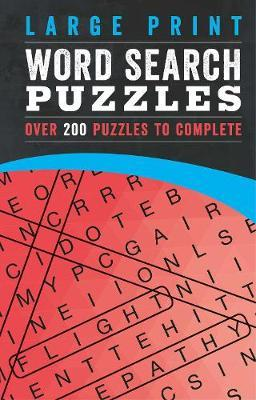 Large Print Word Search Puzzles by Parragon Books Ltd