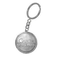 Game of Thrones Round Metal Key Ring