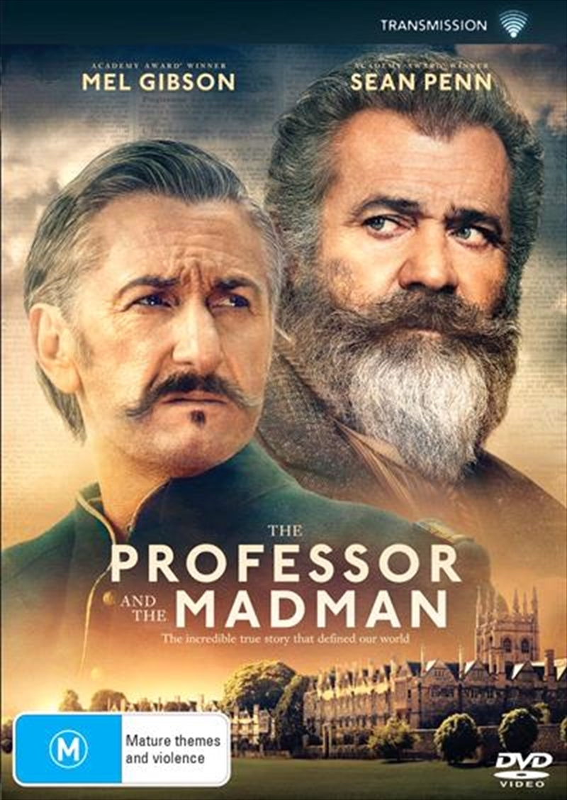 The Professor And The Madman on DVD image