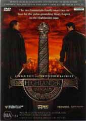 Highlander 4 - End Game on DVD