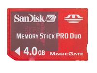 SanDisk MemoryStick Pro Duo Gaming 4096MB (4GB)    Memory image