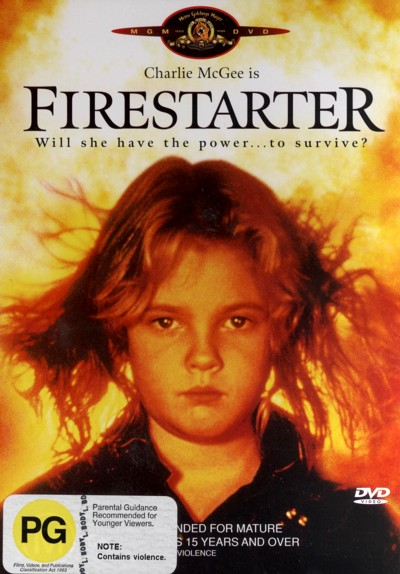 Firestarter on DVD image