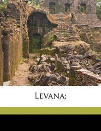 Levana; by Jean Paul