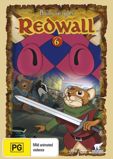 Redwall (Brian Jacques') - Vol. 6 on DVD