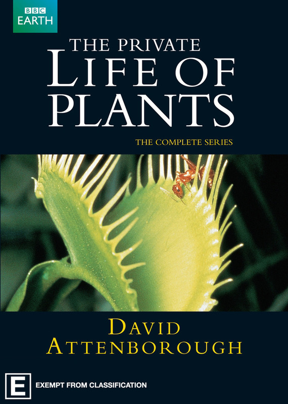 The Private Life of Plants on DVD