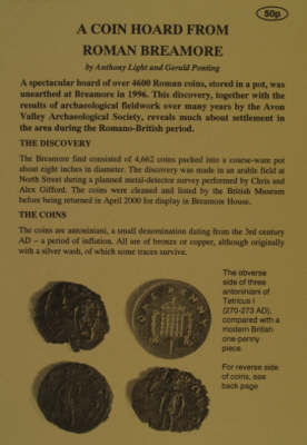 A Coin Hoard from Roman Breamore by A. Light