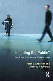 Insulting the Public? by Peter J. Anderson image