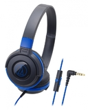 Audio-Technica ATH-S100iS DJ Headphones (Blue)