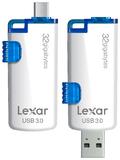 32GB Lexar JumpDrive M20 OTG USB 3.0 Flash Drive
