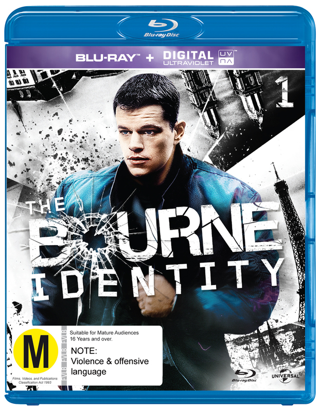 The Bourne Identity on Blu-ray