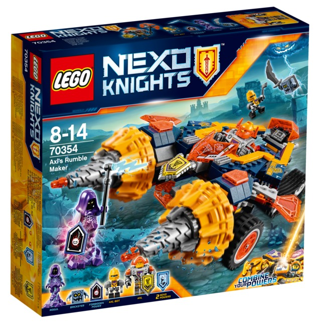 LEGO Nexo Knights - Axl's Rumble Maker (70354)