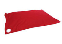 Beanz Pet Bean Indoor/Outdoor Bean Bag Cover - Red (X-Large)