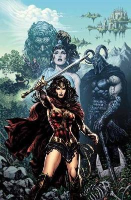 Wonder Woman The Rebirth Deluxe Edition Book 1 (Rebirth) by Greg Rucka image