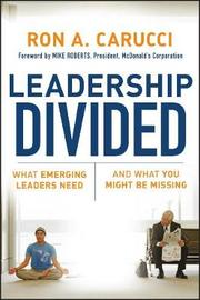 Leadership Divided by Ron A Carucci image