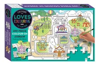 Everyone Loves Colouring: 100-Piece Jigsaw - The Fun Park image
