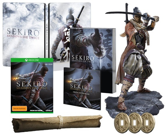 Sekiro Shadows Die Twice Steelbook Selling Well All Over The World Video Games & Consoles