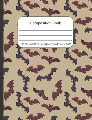 Composition Book College Rule by James Smith